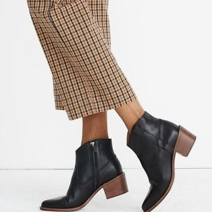 New Madewell Hailie boot in leather